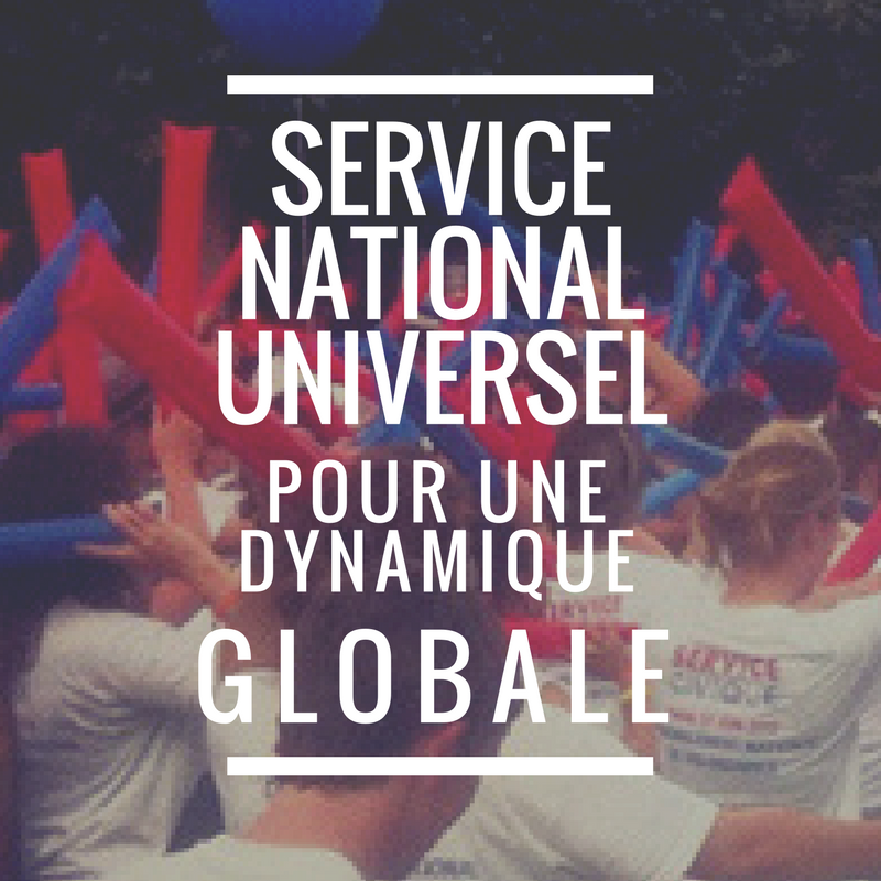 service national universel pour une dynamique globale vers le haut. Black Bedroom Furniture Sets. Home Design Ideas
